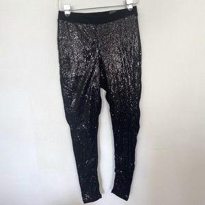 Torrid sequin leggings size 0